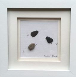 "Stone chats £20 7"" x 7"" frame"